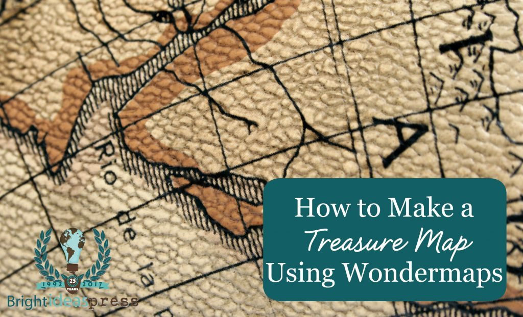 How to make a treasure map using WonderMaps