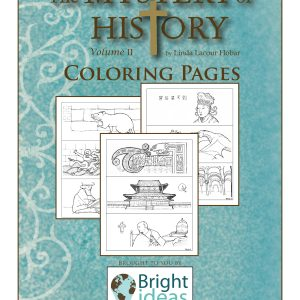 The Mystery of History Volume II Coloring Pages by Bright Ideas Press