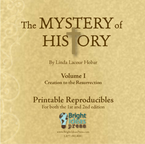 The Mystery of History Volume I Reproducibles by Bright Ideas Press