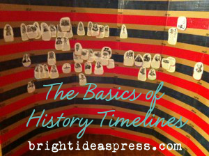 The Basics of History Timelines by @brightideasteam