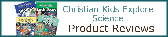 Christian Kids Explore science series by Bright Ideas Press:  Product Reviews by Homeschool Moms