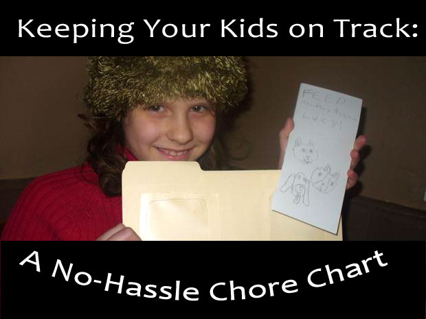 No Hassle Chore Chart | @BrightIdeasTeam & @PoeticLotion
