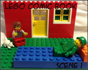 Lego Comic Book