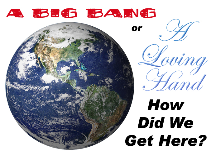 Big Bang or Loving Hand | @PoeticLotion & @BrightIdeasTeam