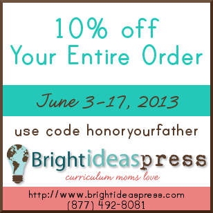 fathers day coupon 2013 Bright Ideas Press