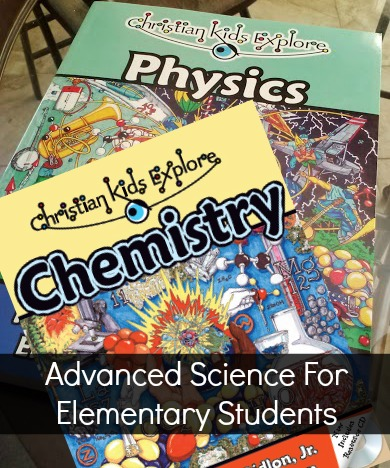 Advanced Science For Elementary Students @BrightIdeasPress