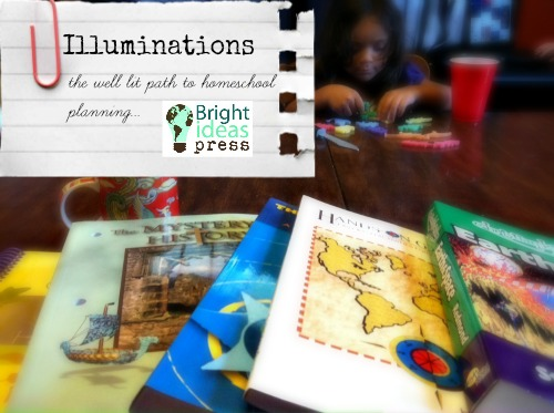 Illuminations, homeschool planning