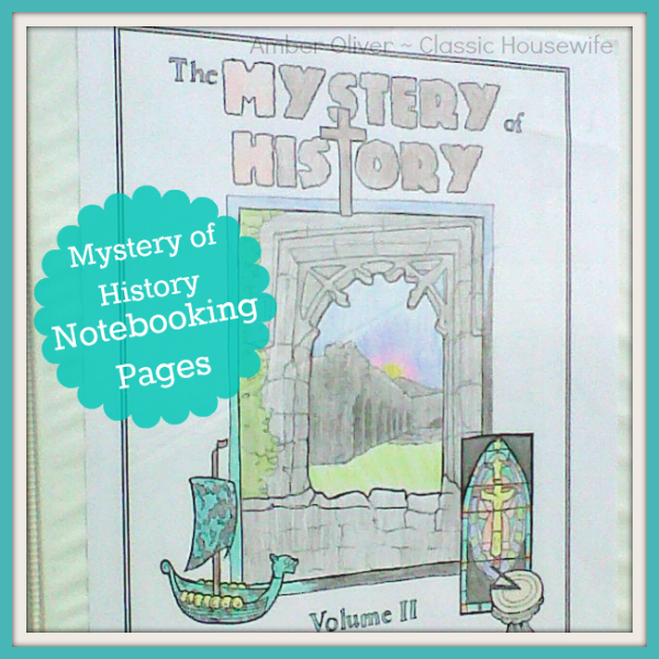 Mystery of History Notebooking Pages @brightideasteam @amberoliver