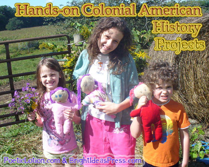 Hands-on ideas for Colonial America @brightideasteam