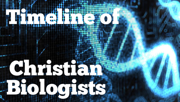 Eight Christian Biologists plus free printable timeline figures Bright Ideas Press