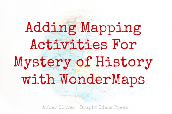 mapping with mystery of history and wondermaps