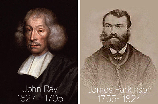 Christian Biologists John Ray and James Parkinson