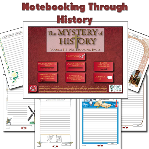 Mystery of History Notebooking