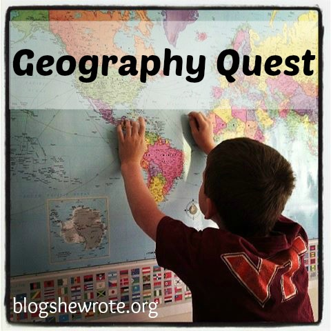 Blog, She Wrote: Geography Quests