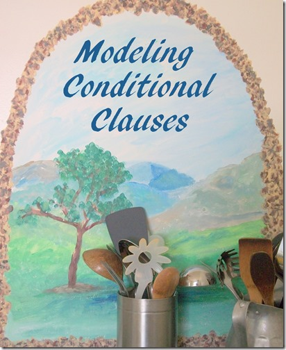 Modeling Conditional Clauses