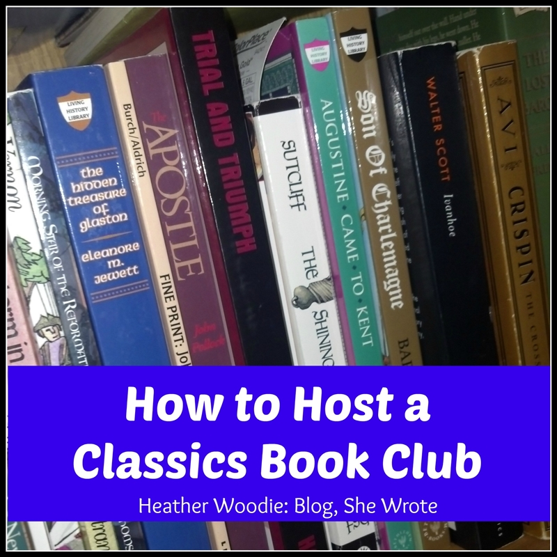 how to host a classics book club
