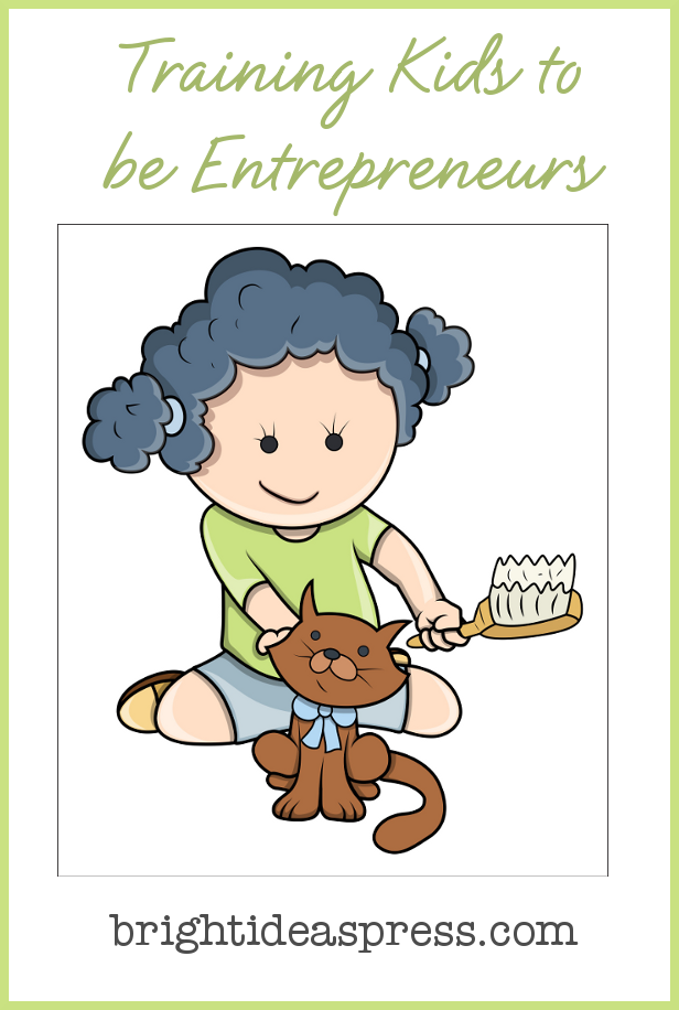 Training Kids to be Entrepreneurs