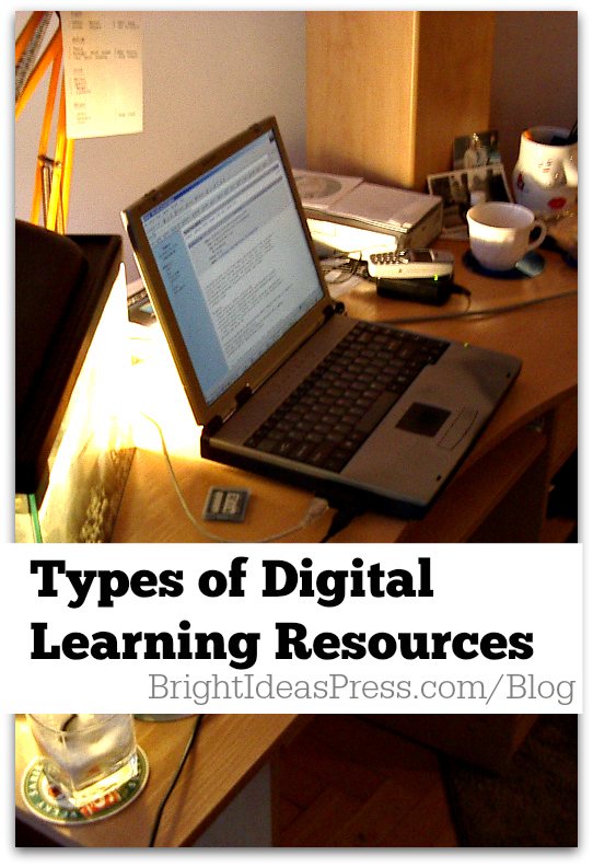 Types of Digital Learning Resources