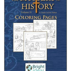 The Mystery of History Volume IV Coloring Pages by Bright Ideas Press