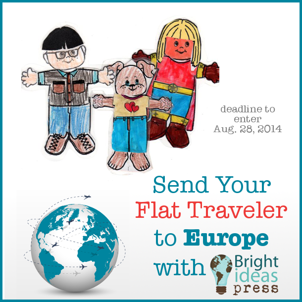 Send a Flat Traveler to Europe with Bright Ideas Press