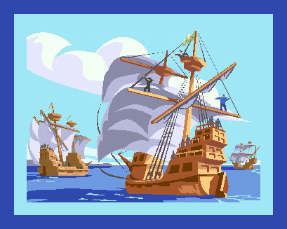 A Ship Like Columbus Sailed - Pedro's Journal