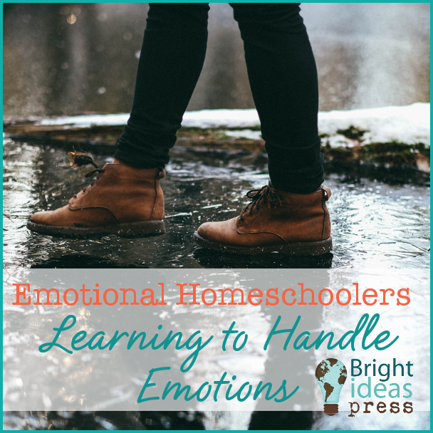 Emotional Homeschoolers: Learning to Handle Emotions • Bright Ideas Press, Christian homeschool curriculum