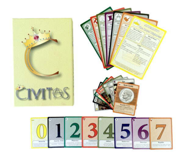 civitas card game components