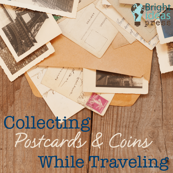 Collecting Postcards and Coins While Traveling