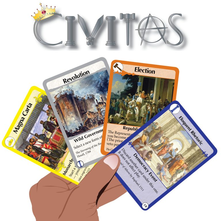 Playing Civitas Cards