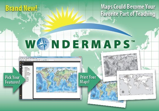 wondermaps - bright ideas press