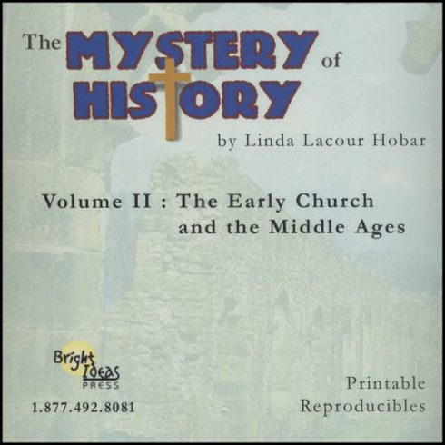 The Mystery of History Volume II Reproducibles by Bright Ideas Press
