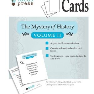 The Mystery of History Volume II Challenge Cards by Bright Ideas Press