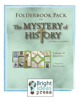 The Mystery of History  Volume II – Folderbook by Bright Ideas Press