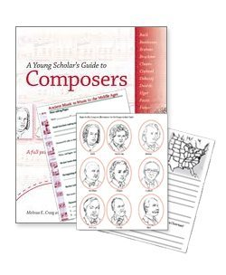 Young Scholar's Guide to Composers Combo Pack • Bright Ideas Press