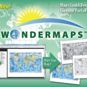 Printable maps WonderMaps
